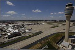 Hartsfield-Jackson Atlanta International Airport is the world's busiest.
