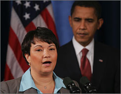 "Lisa Jackson said ""science will be the backbone of what EPA does."""