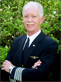 "Chesley B. ""Sully"" Sullenberger, the U.S. Airways pilot who guided the plane to safety in the frigid waters of the Hudson River in New York on Thursday, is being hailed as a hero. Everyone on board the flight headed from New York to Charlotte, survived."