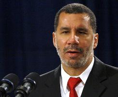 New York Gov. David Paterson's decision on filling former senator Hillary Rodham Clinton's seat is due at noon Friday.