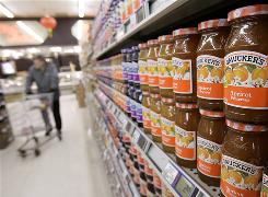 Many brands of jelly include high-fructose corn syrup and mercury was detected in some brand's flavors, including Smucker's strawberry and Market Pantry's grape, according to the Institute for Agriculture and Trade Policy.