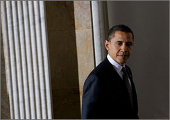 President Obama's stimulus plan got the support of the U.S. House on Wednesday.