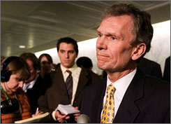 Former senator Tom Daschle, D-S.D., has withdrawn his name from the nomination to lead the Department of Health and Human Services. Daschle provided advice to health insurers and hospitals through his post-Senate work at a law firm.