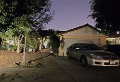 The home of the Southern California woman who gave birth to octuplets this week is seen in Whittier, Calif.