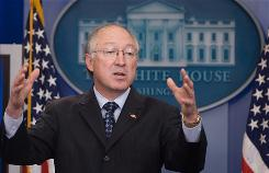 Interior Secretary Ken Salazar says the stimulus package's numbers for the National Park Service &quot;are within the range of reason.&quot;