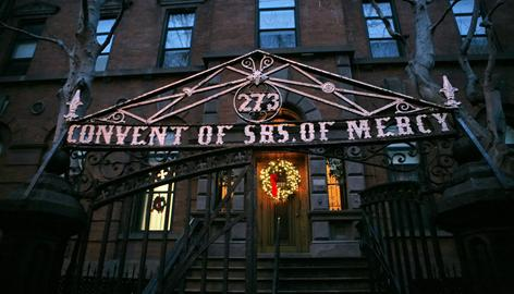 A preservationist group is seeking landmark status for the stately edifice of the Sisters of Merc