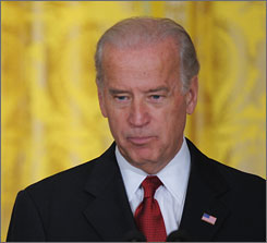 Vice President Biden, seen here on Jan. 30 speaking at the White House about middle-class working families, is poised to make the first foreign trip by a top official in the new administration.