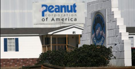 The Peanut Corporation of America in Blakely, Ga., has been linked to a nationwide salmonella outbreak from tainted peanut butter that has prompted international product recalls.