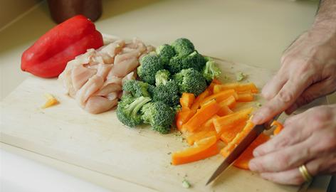 A Mediterranean diet, which can include broccoli and peppers, may help fight borderline dementia, according to a Columbia University Medical Center study.