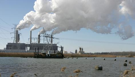 Waste from this Gibson County, Ind., Duke Energy coal plant tainted a bird sanctuary and a small town's drinking water.