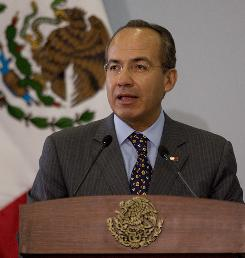Mexico's President Felipe Calderon believes he can beat back the cartels by 2012 to a point that the army and federal police can withdraw and leave the problem in the hands of local law enforcement.
