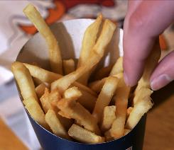 Do kids want fries with that? Evidently, yes: Fried potatoes account for as much as 25% of children's vegetable intake.