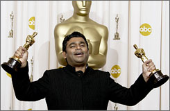 """India's ruling Congress party has bought the exclusive rights to play A.R. Rahman's Oscar winning song """"Jai Ho,"""" which translates as """"Be Victorious,"""" at their election rallies, said an official."""
