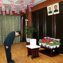 North Koreans voted Sunday to elect legislators to the country's parliament.