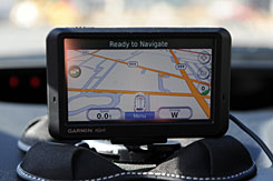 GPS devices are only as accurate as the map data supplied to them, a Garmin spokeswoman says.