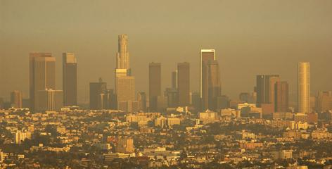 Los Angeles had the second highest ozone level among 96 metropolitan areas studied over an 18-year period by a California researcher.