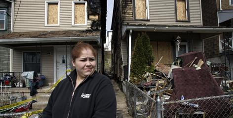 Carmen Lemus, outside her Coatesville, Pa.,