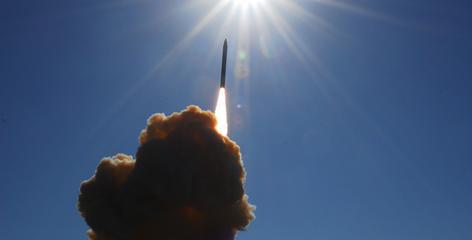 The Missile Defense Agency tested an interceptor system on Dec. 5 at Vandenberg Air Force Base, Calif.
