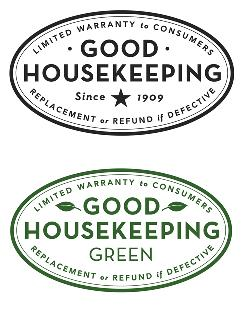 A hundred years after the Good Housekeeping magazine debuted its product seal, above, it's introducing a green version, below.