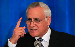 Former Israeli president Moshe Katsav is facing rape charges.