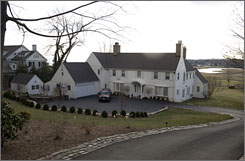 Connecticut is home to many executives at AIG, including James Hass, who owns this home in Fairfield, Conn.
