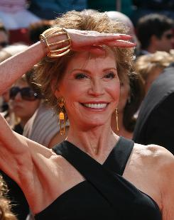 Mary Tyler Moore arrives for the 60th Annual Emmy Awards last year in Los Angeles, where she was a presenter. She was diagnosed with type 1 diabetes right around the launch of her award-winning The Mary Tyler Moore Show.