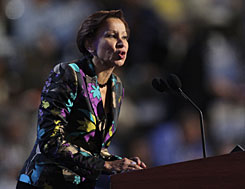 Rep. Nydia Velazquez, D-N.Y., says, &quot;It's outrageous that money is going to companies that don't qualify to be in the program.&quot;