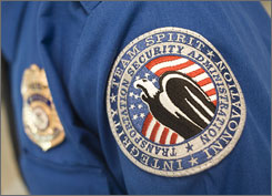 "The Transportation Security Administration is being accused of trademark infringement in its 2007 ""SimpliFLY"" campaign."