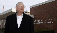 Harold Long, the former mayor of Attica, Ind., was principal of Attica Elementary for 20 years.