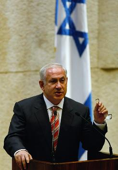 After an election campaign in which incoming Israeli Prime Minister Benjamin Netanyahu  roundly criticized the outgoing government's peace talks with the Palestinians, he has softened his position.