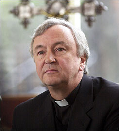 Birmingham, England, Archbishop Vincent Nichols, seen here in February 2001, has been appointed by the Vatican to lead the Roman Catholic church in England and Wales.