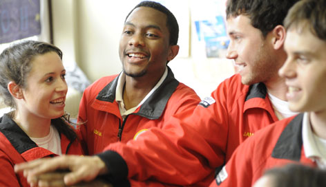 City Year offers young people a $1,000 in monthly stipends, for a year of full-time service in 18 U.S. neighborhoods and Johannesberg, South Africa.