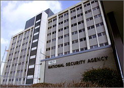 A Senate panel is investigating reports of improper wiretapping by the National Security Agency, whose Ford Meade, Md., headquarters outside of Washington are shown here.