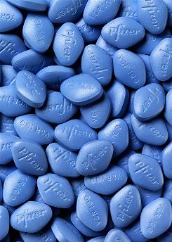 """A new study found no """"cumulative damage"""" to vision in men taking the drug active in Viagra and Cialis."""