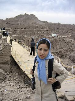 An Iranian court has sentenced Iranian-American freelance journalist Roxana Saberi to eight years in jail. Saberi was accused of spying for the United States.
