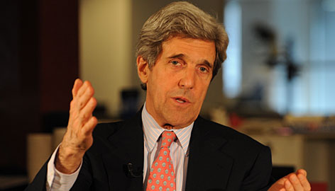 """Sen. John Kerry, D-Mass., said he did not mean to criticize Obama. """"I was not blasting the president,"""" he said. """"What I'm saying is that the details have not been fleshed out. We're working hand in hand on it."""""""