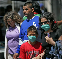 Mexico City has become the epicenter of the sickness, which had infected 1,324 people nationwide by Saturday night.