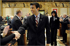 Louisiana Gov. Bobby Jindal will be part of GOP listening sessions across the nation.