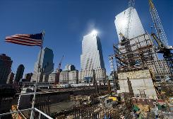 Despite a collapsed construction market and many planning obstacles along the way, the new One World Trade Center remains one of the busiest work sites in America.