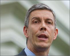 """Young people and adult learners deserve the chance to go to college and to know the money they need is available,"" Education Secretary Arne Duncan said in a statement Tuesday."