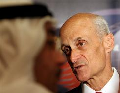 Michael Chertoff, head of the Homeland Security Department during the Bush administration, now leads his own security consulting group.