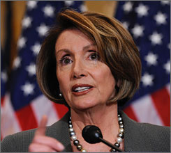 House Speaker Nancy Pelosi, D-Calif., under fire for claims that the CIA misled her on its use of waterboarding, said Friday during a news conference on Capitol Hill in Washington that she will not talk any more about her charge regarding the agency.