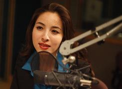 U.S.-Iranian journalist Roxana Saberi is interviewed in NPR's Washington, D.C, studio.