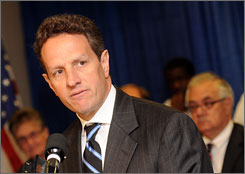 Timothy Geithner has two days of talks with Chinese leaders scheduled during his first visit to the country as Treasury secretary.