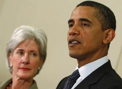 President Obama and Secretary of Health and Human Services Kathleen Sebelius will lead the push to overhaul the health care system despite brewing battles over its cost, structure and scope.