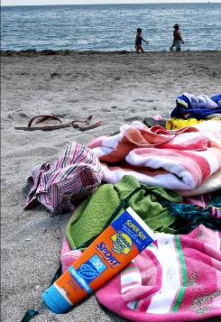 Sunbathers who want to protect their skin need to read the labels on their sunscreen carefully.
