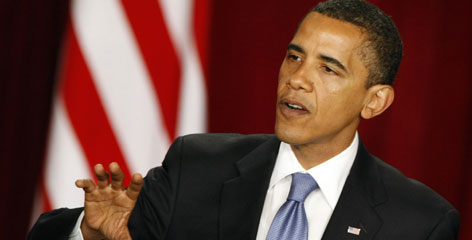 "President Obama said on Thursday that the Israelis and Palestinians have '""legitimate aspirations."""