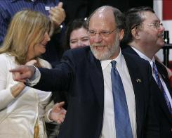 New Jersey Democratic Gov. Jon Corzine says he welcomes the challenge by Republican Chris Christie, who served in the Bush administration, in November.
