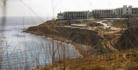 The city of Rancho Palos Verdes, Calif., is loaning $8 million to the developer of the $475 million Terranea resort, scheduled to open this week.