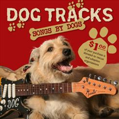 The cover of Bob Dorman's album Dog Tracks: Songs by Dogs, featuring such songs from Fido's perspective.